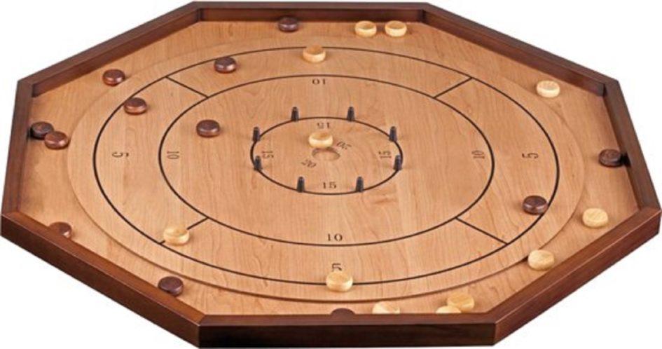 Crokinole - bordspel uit Canada