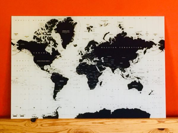 werelddkaart online kopen