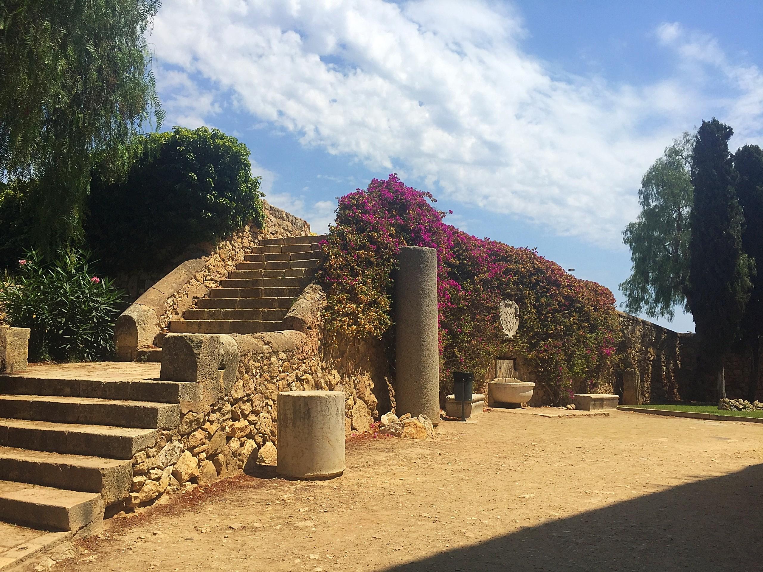 Archeologische^promenade in Tarragona