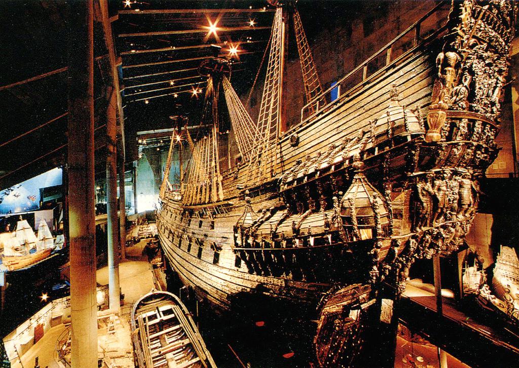 Vasa in het Vasa museum