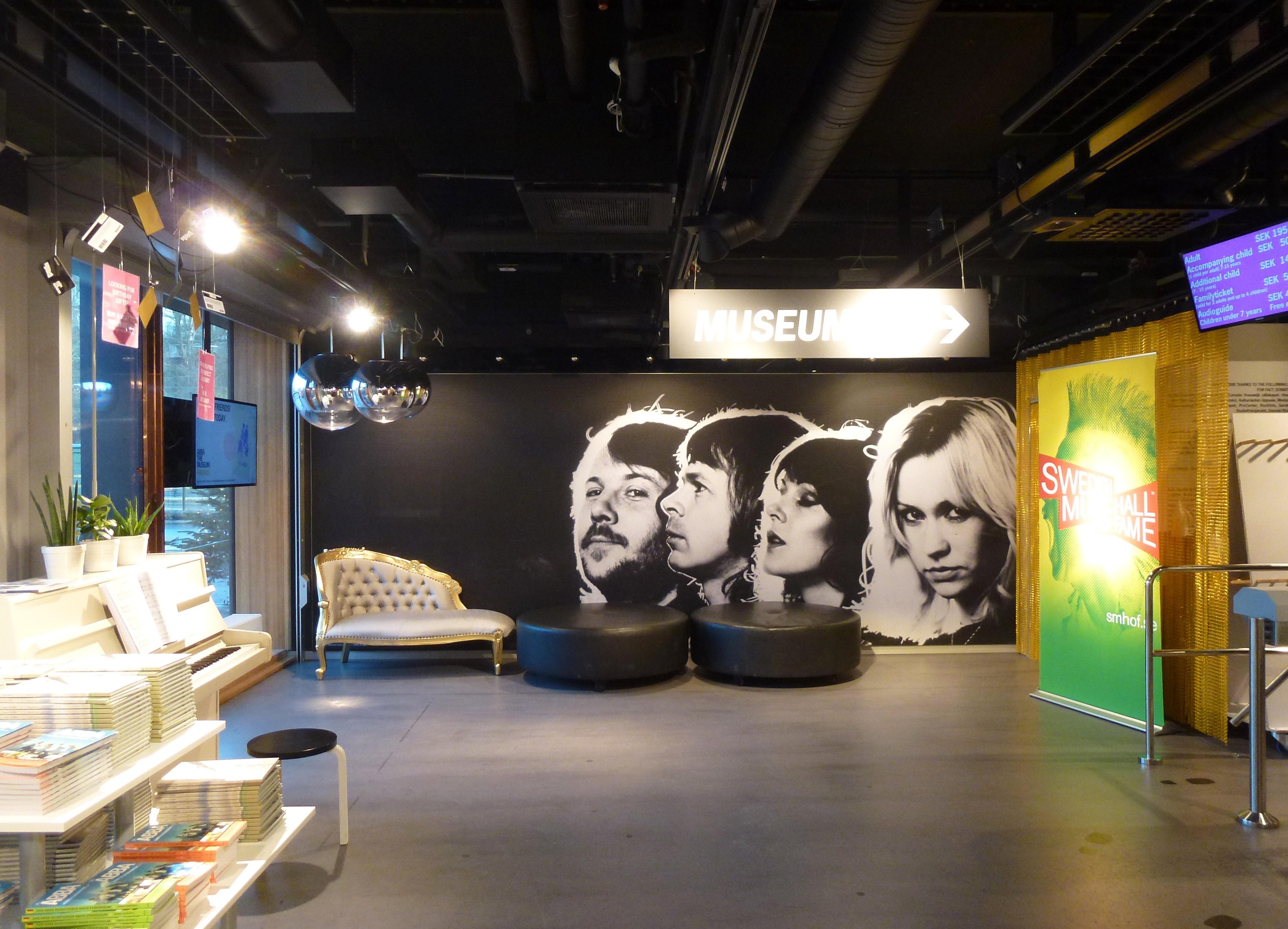 Ingang ABBA-museum