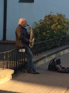 Riga straatmuzikant