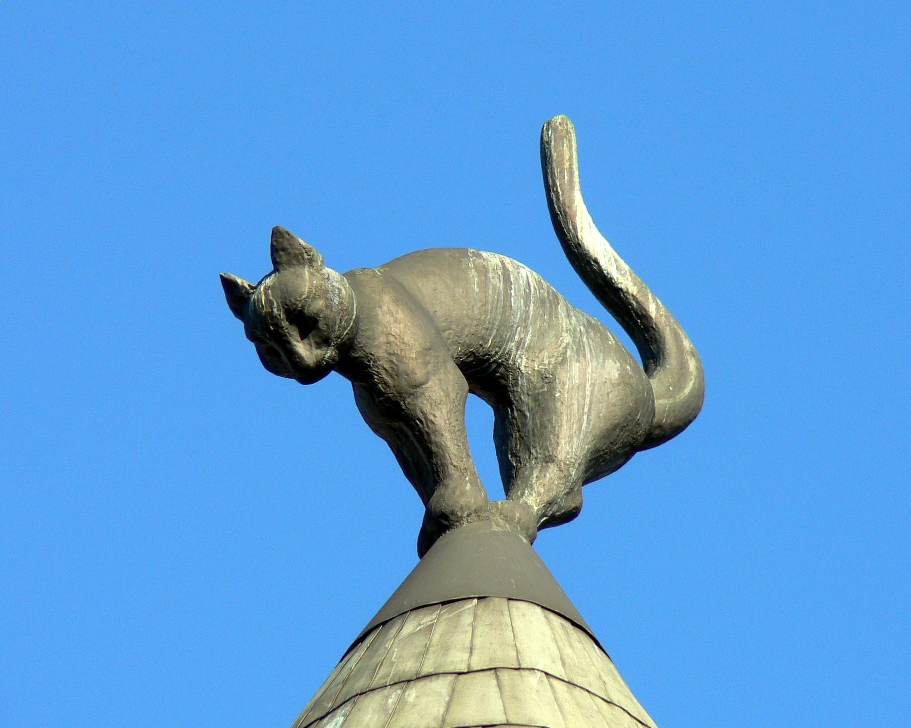 Kattenhuis in Riga
