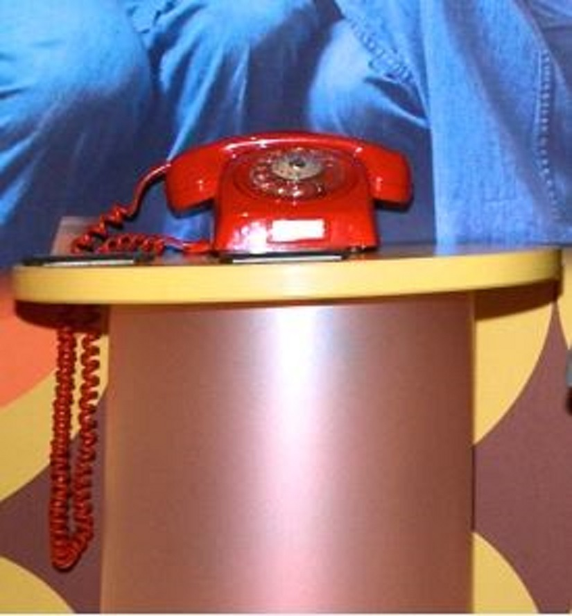Telefoon in ABBA museum