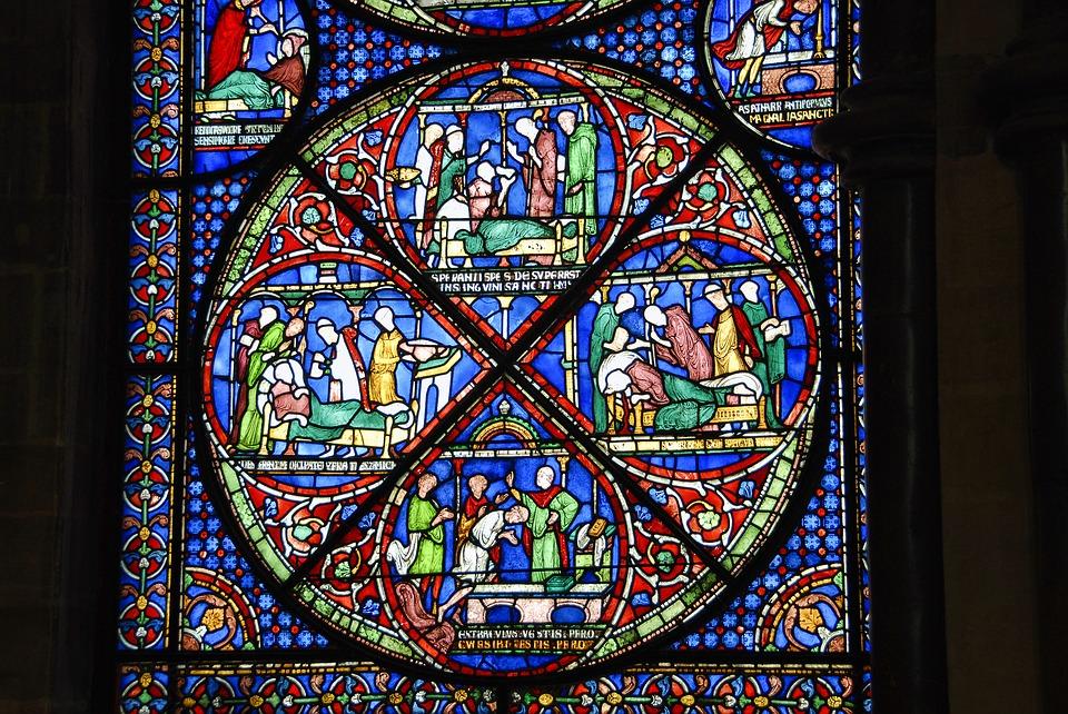 Glasramen kathedraal Canterbury