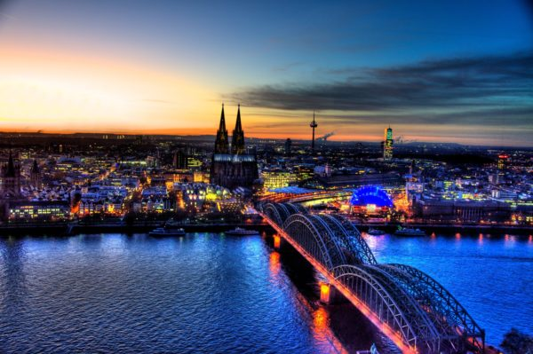 Milieusticker Duitsland - Keulen