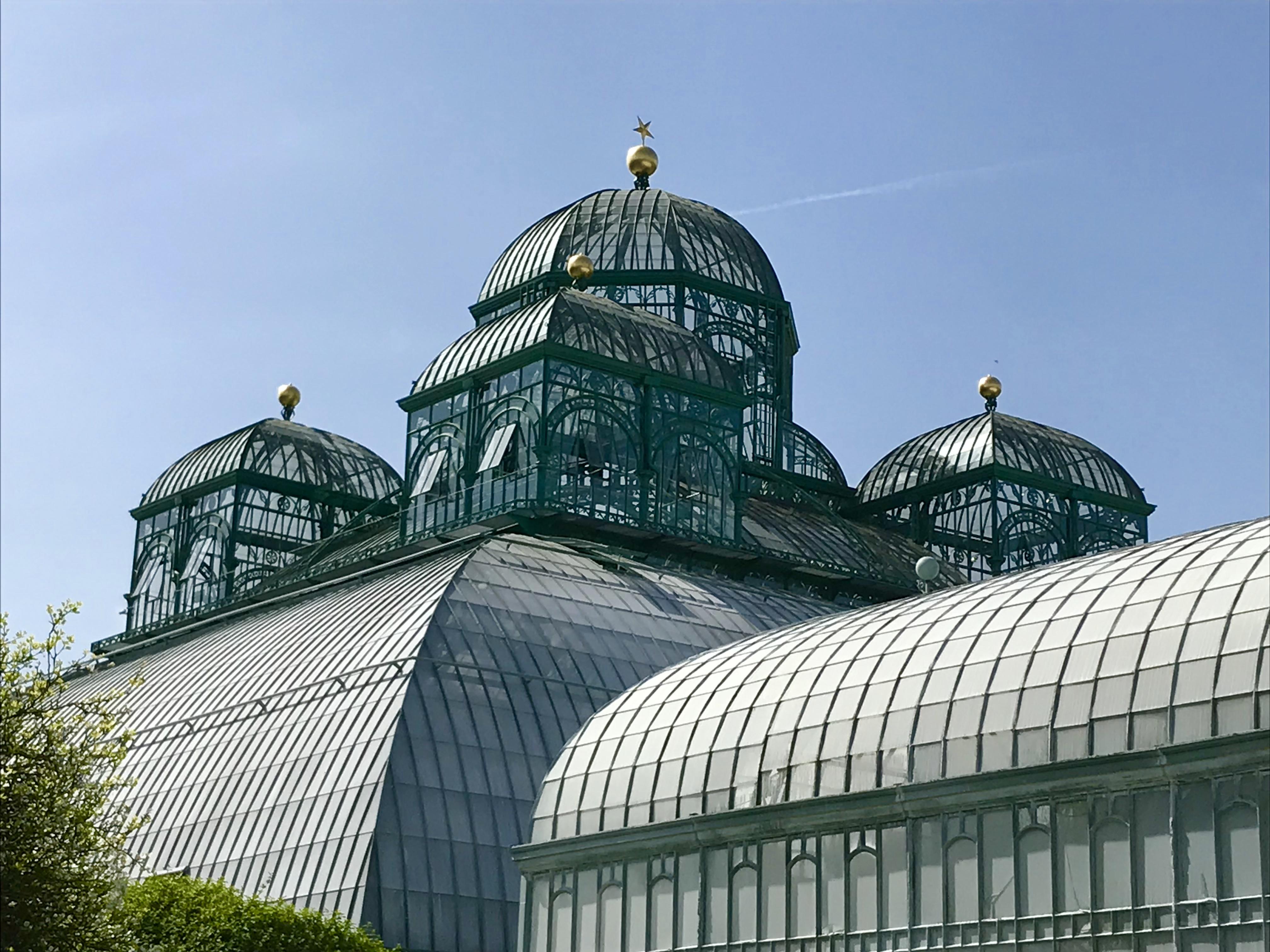 De Koninklijke Serres in Laken - het serrecomplex