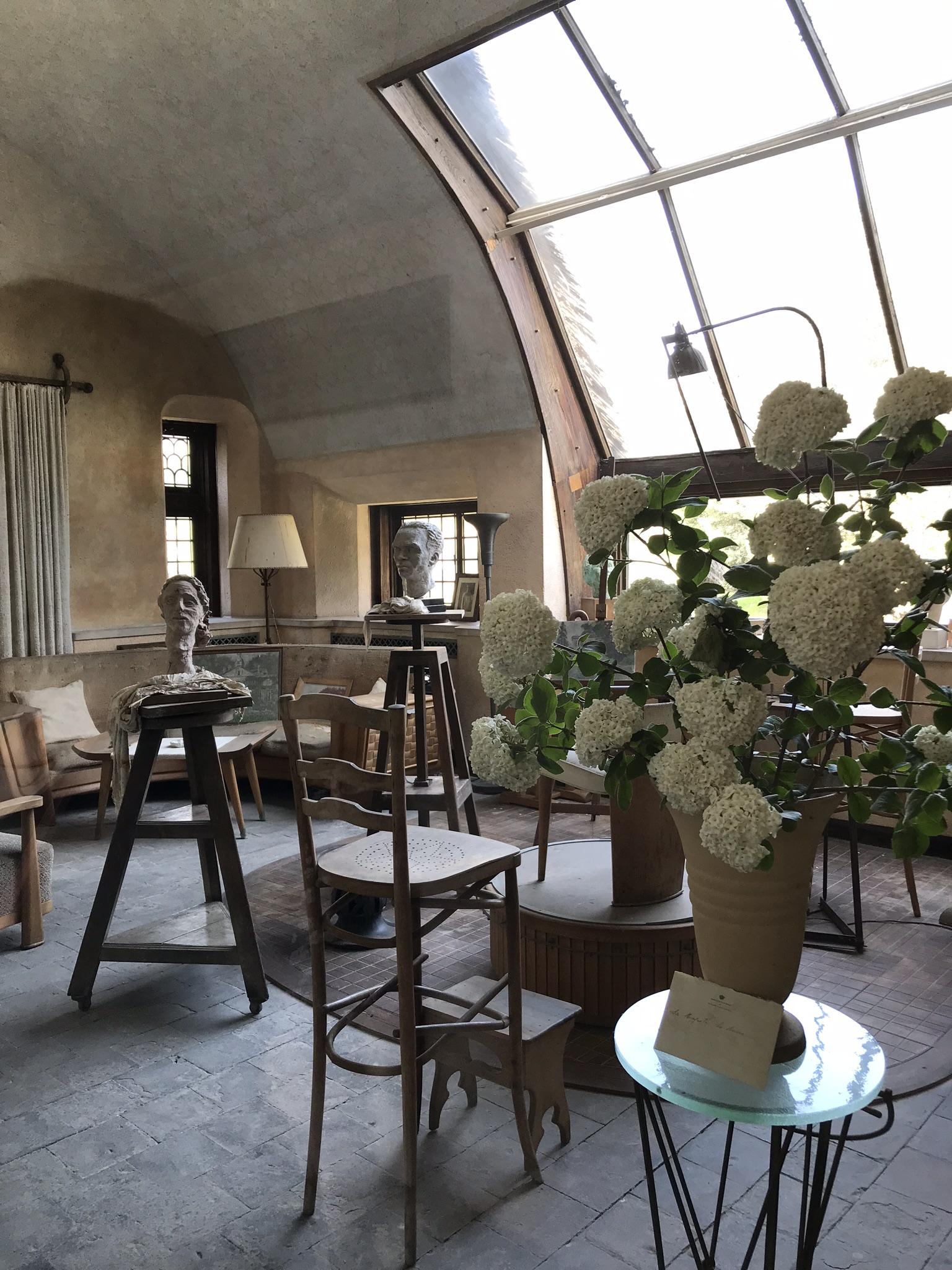Het atelier van Koningin Elisabeth - Laken