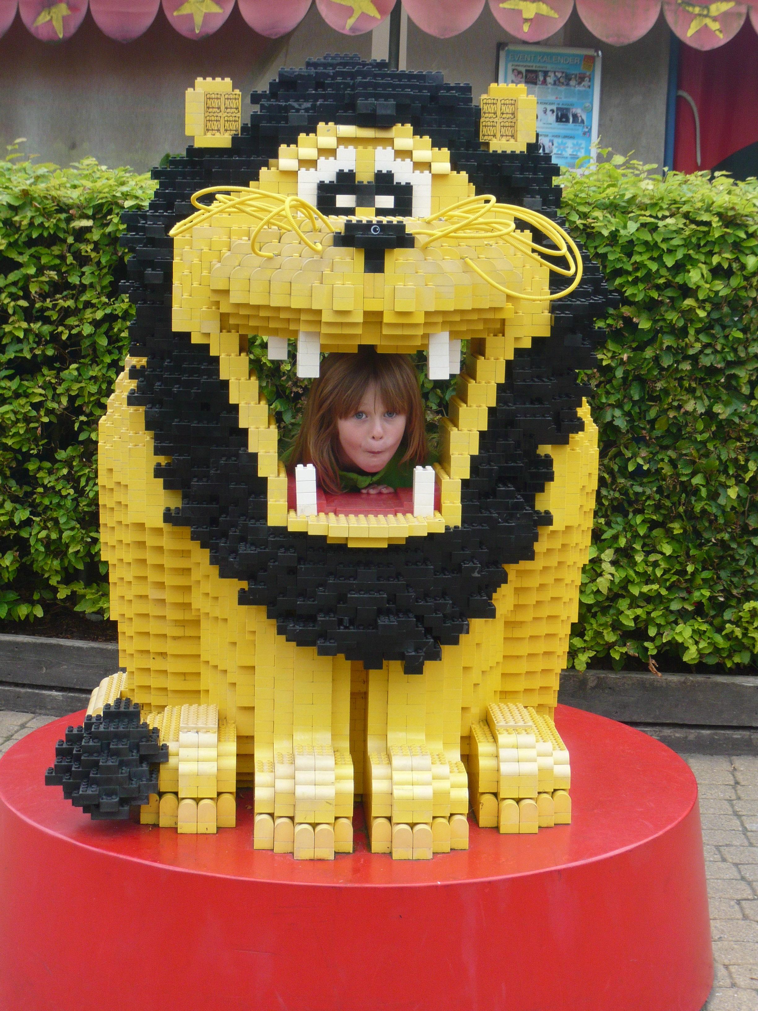Miniland in Legoland Billund