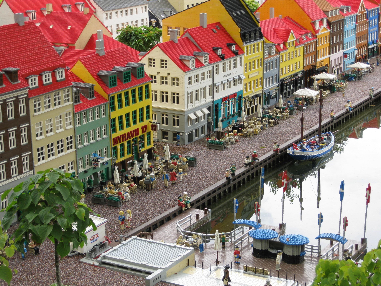 Miniland in Legoland Billund - NyHavn