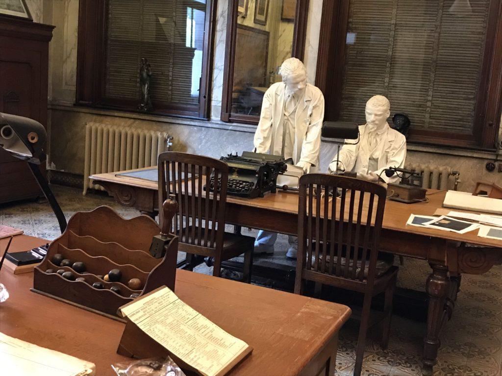 Bois-du-Luc: het bureau van de directeur