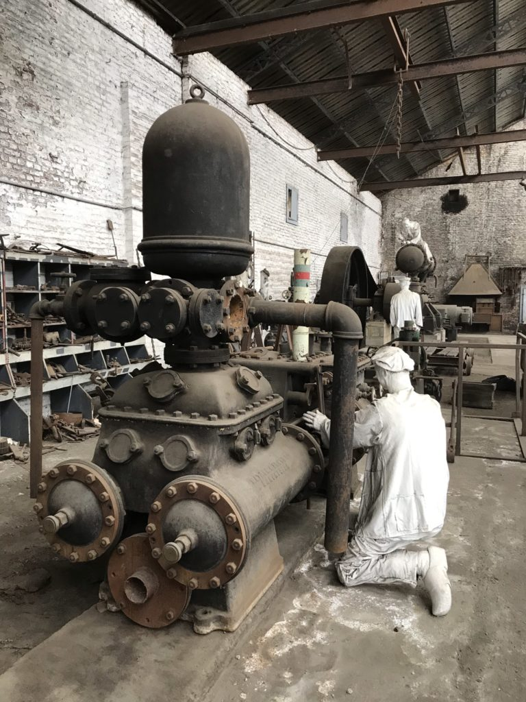 Bois-du-Luc: de werkplaatsen