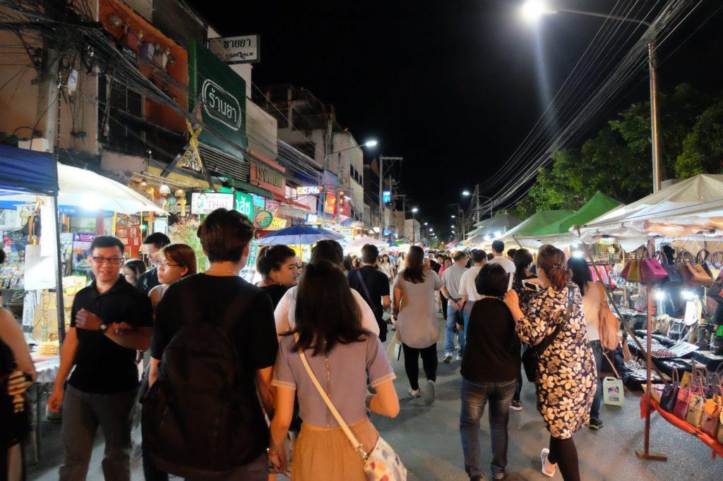 Avondmarkt Chiang Mai
