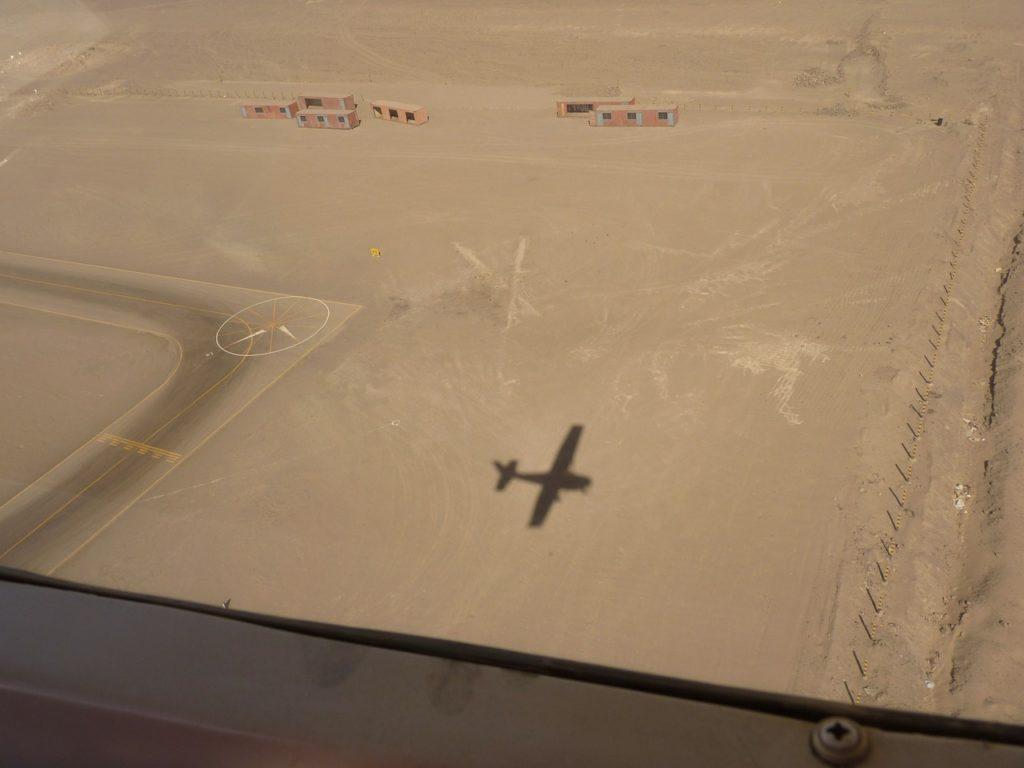 Vlucht over de Nazca-lijnen in Peru