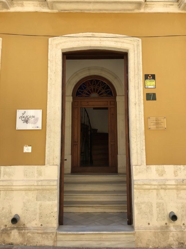 La Casa de Poeta in Almeria. Huis van de dichter José Ángel Valente