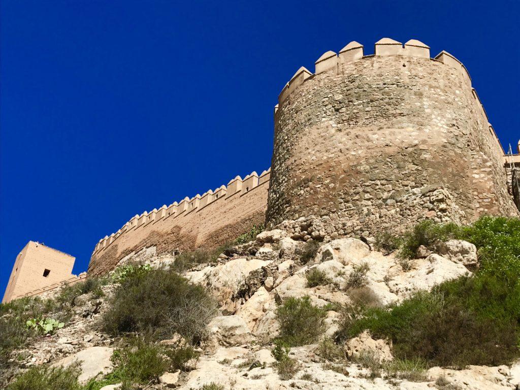 Het Alcazaba in Almería.