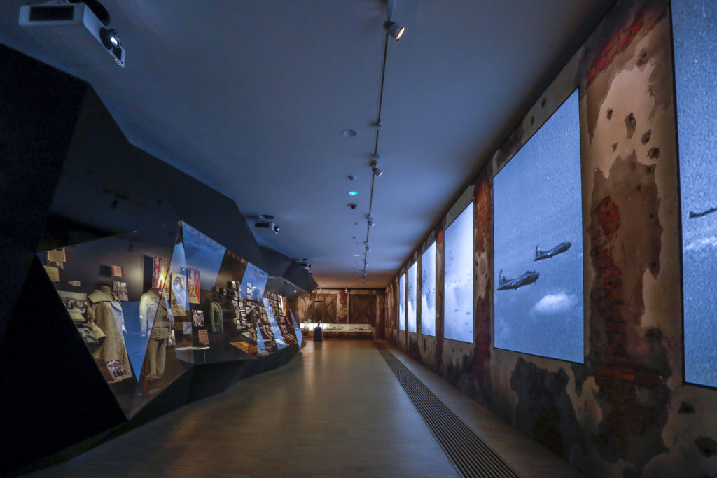 Expositieruimte in het Huis van de Europese Geschiedenis