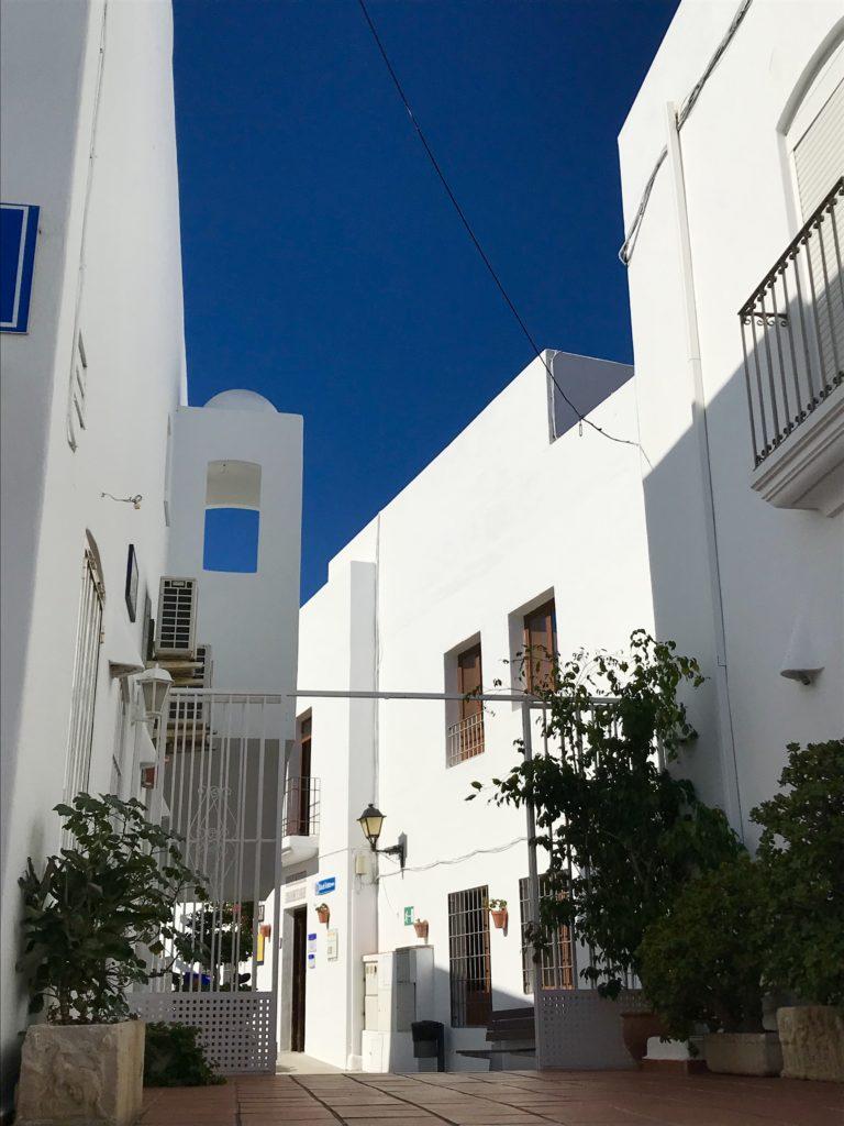 straat in Mojacar