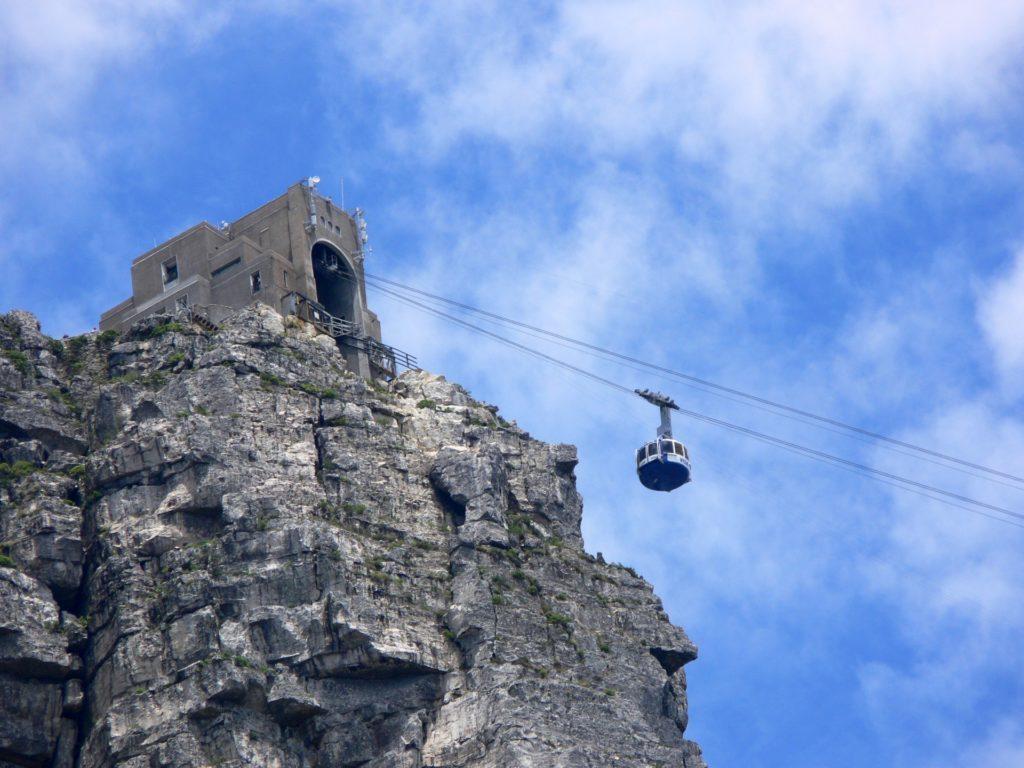 De kabellift van de Tafelberg in Kaapstad