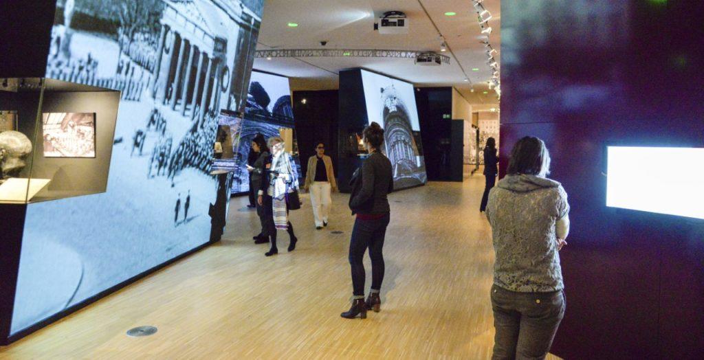 Multimediagids in het Huis van de Europese Geschiedenis