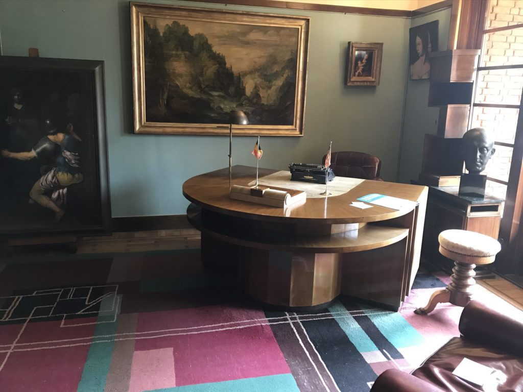 Ket Van Buuren Museum: de studeerkamer