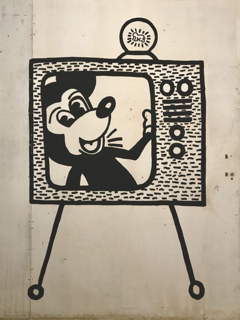 Keith Haring in Bozar Brussel