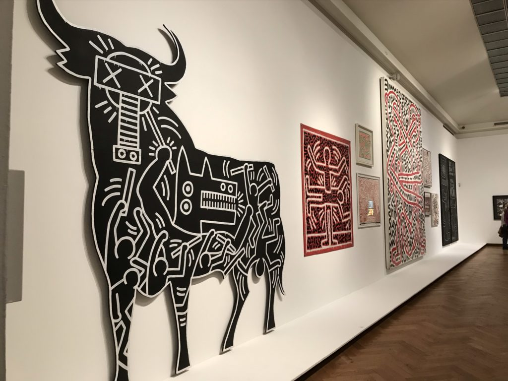 Keith Haring in Bozar, Brussel