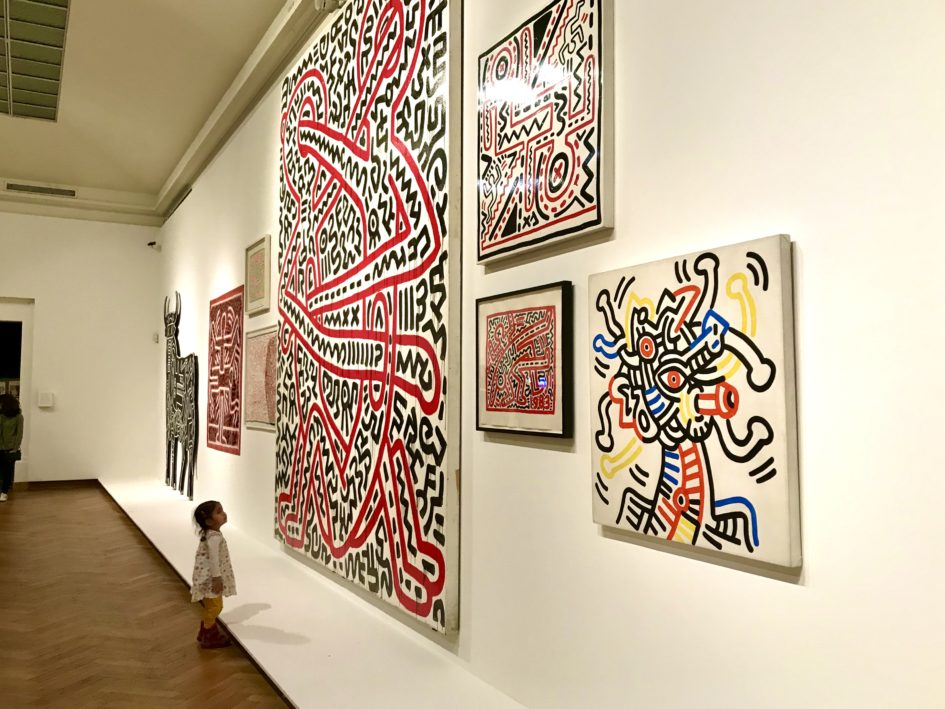 Keith Haring in Bozar Brussel