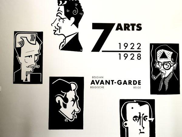 Expo 7 arts: de Belgische avant-garde