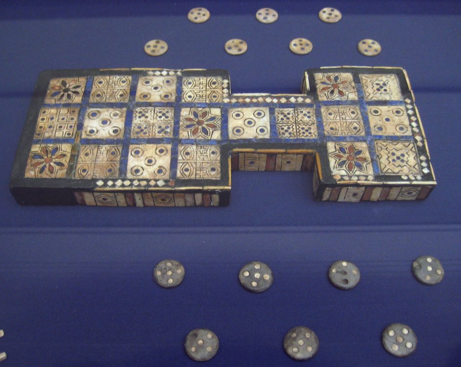 Royal game of UR - British Museum